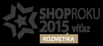 Shop roka 2015 kozmentika